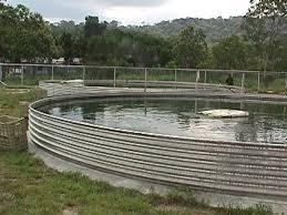 tanque australiano de chapa galvanizada