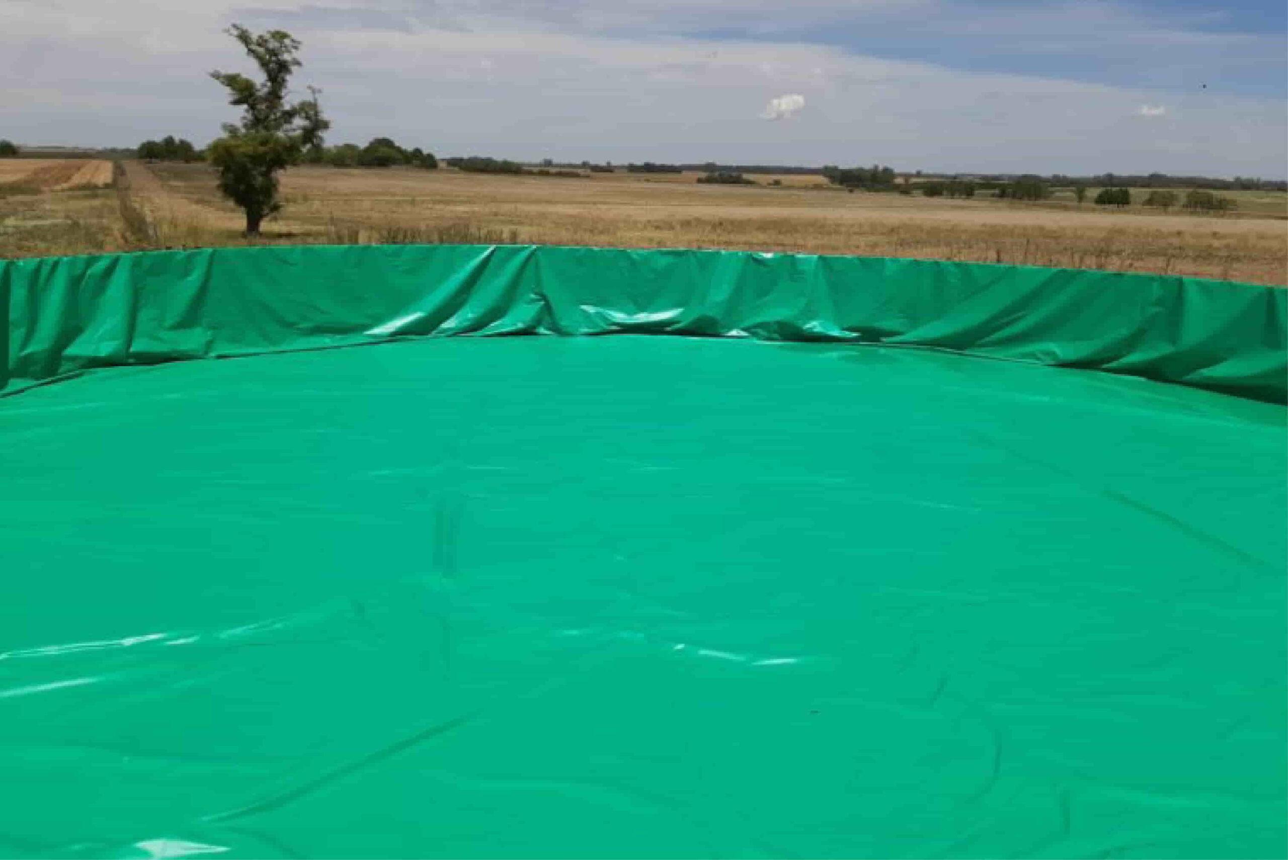funda verde para tanque australiano